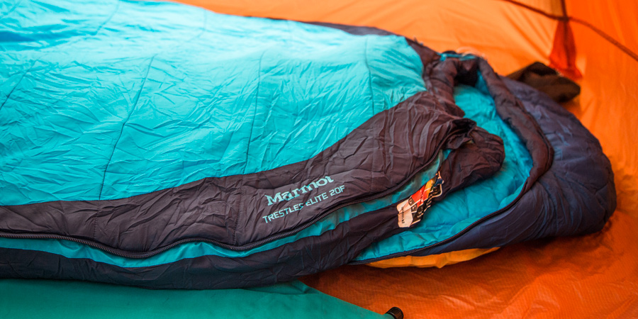 sleeping bag types