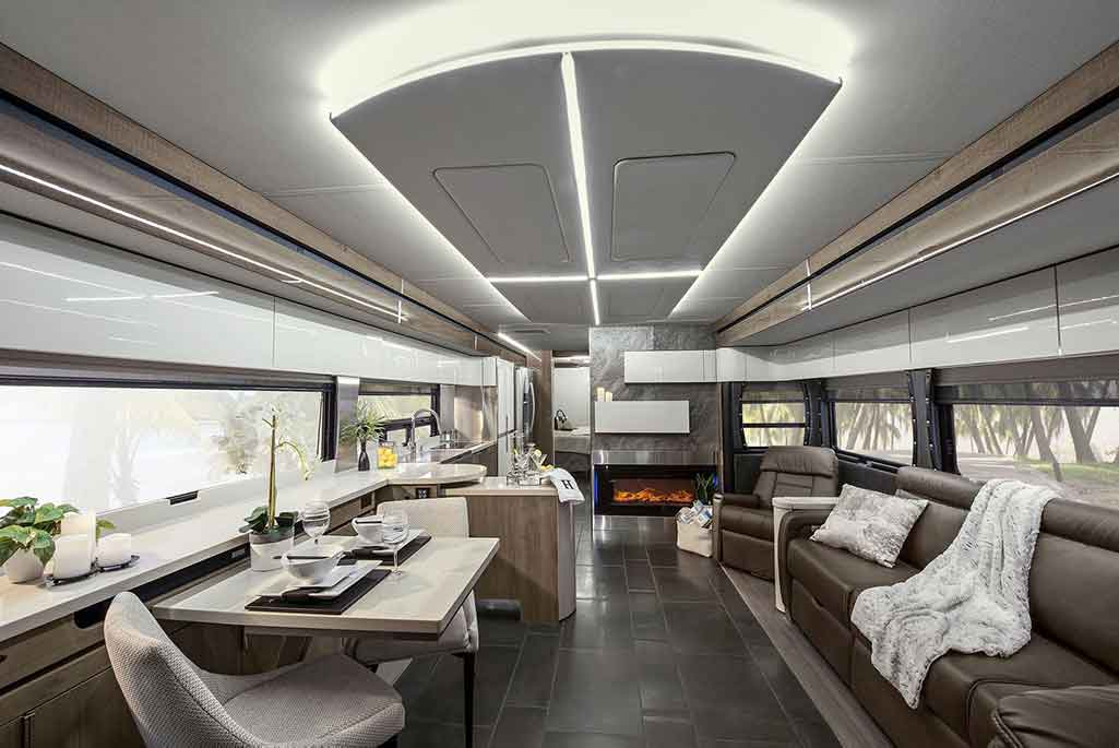 cleaning rv interior